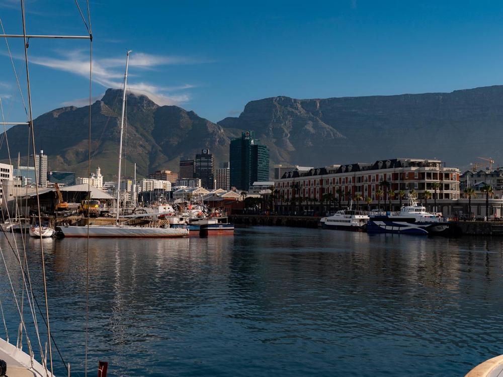 Waterfront Capetown - Im Hafen von Kapstadt