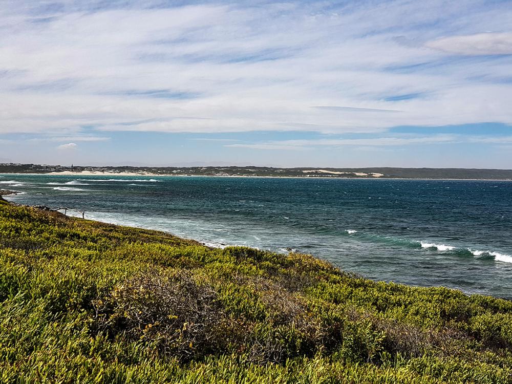Am Strand von Infanta in Südafrika