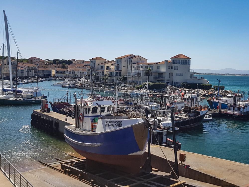 Hafenromantik im Hafen von St. Francis Bay Südafrika
