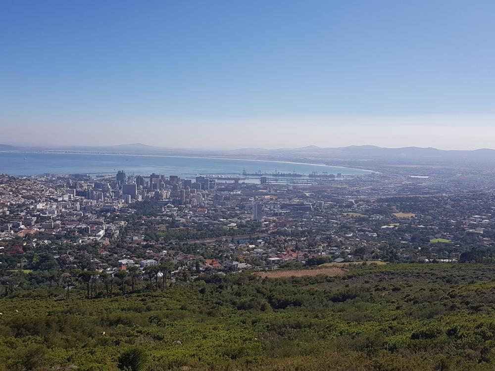 Kapstadt mit Hafen und Big Bay