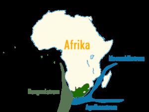 Meeresströmungen Südafrika