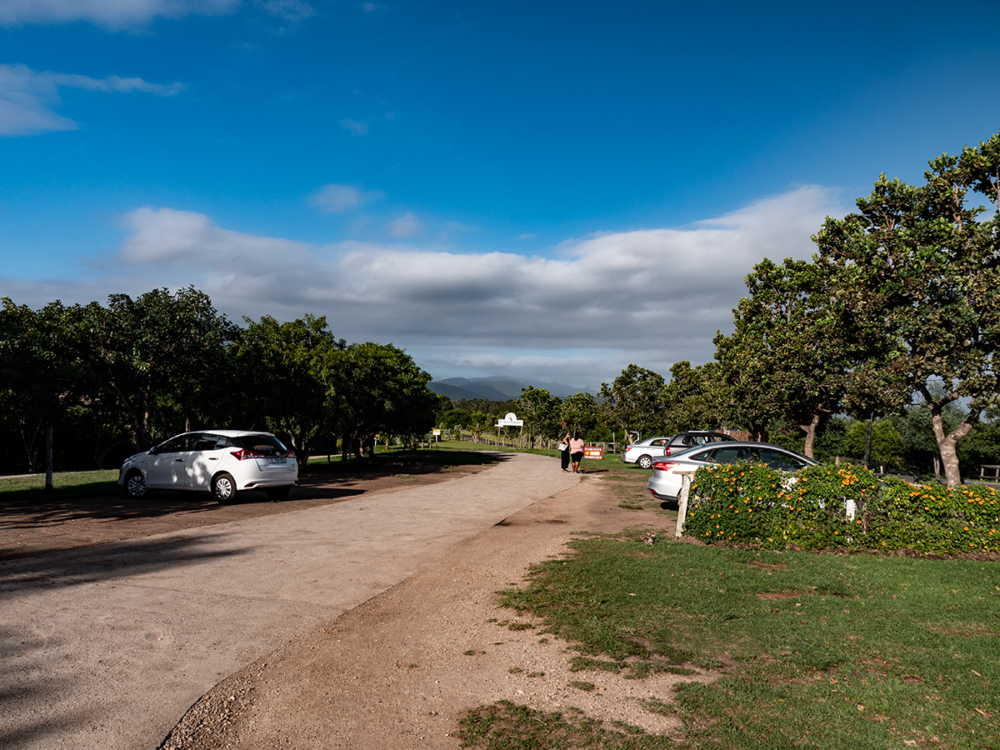 Parkplatz Monkeyland